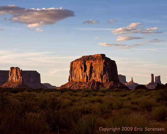 """""""Monument Valley""""<br /> by Eric Sorensen<br /> Open-Color<br /> Score= 12 October 2009"""