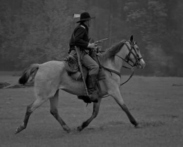 Category: Open Black & White Maker: Bill Carroll Title: Horse Soldier Score: 11 February 2009