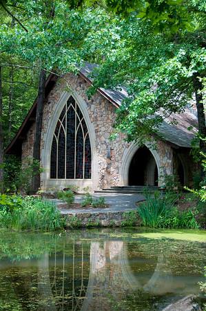 Callaway Gardens Chapel<br /> Nancy Lawrence<br /> Open Color<br /> Score: 12 August 2009