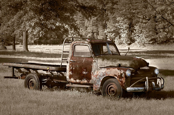 """""""Old Chevy Truck""""<br /> By Wilfred Smith<br /> Non-Traditional<br /> Score--12 January 2009"""