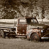 """Old Chevy Truck""<br /> By Wilfred Smith<br /> Non-Traditional<br /> Score--12 January 2009"