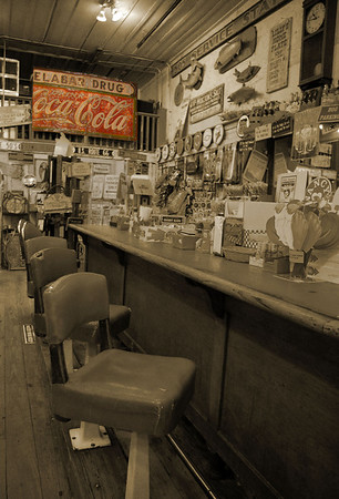 50's Soda Shop<br /> by Tony Austin<br /> Non-Traditional<br /> Score 12 October 2009