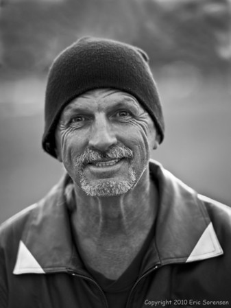 """Biker Dude""<br /> By Eric Sorensen<br /> Portraiture<br /> Score - 11"