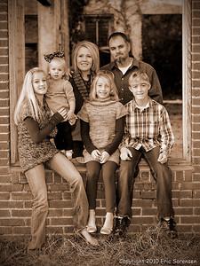 """Parker Family"" by Eric Sorensen Portraitrue Score = 12"