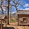 """Mrs Lee's Log Cabin""<br /> by Harvey Jelks<br /> Open Color<br /> Score 12"