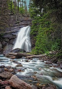 Maker:  Wayne Tabor Title:  Baring Falls Category:  Landscape/Travel Score:  13