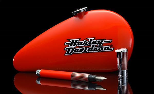 Maker:  Brian M. Buckner<br /> Title:  Harley Fountain Pen<br /> Category:  Closeup/Macro<br /> Score:  14