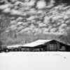 Maker:  Wayne Tabor<br /> Title:  Winter Farm<br /> Category:  Black & White<br /> Score:  12
