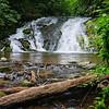 Maker:  Jim Lawrence<br /> Title:  Indian Creek Falls<br /> Category:  Landscape/Travel<br /> Score:  12