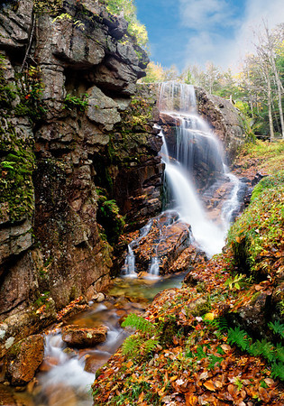 Maker:  Wayne Tabor<br /> Title:  Flume Falls<br /> Category:  Landscape/Travel<br /> Score:  12