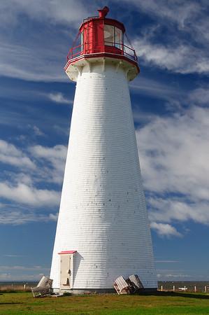 Maker:  Nancy Lawrence<br /> Title:  Prim Point Lighthouse<br /> Category:  Pictorial<br /> Score:  11