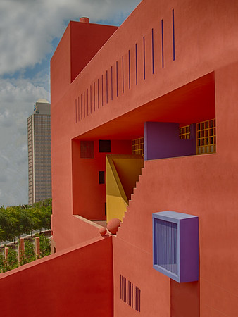 Maker:  Edie Buckner<br /> Title:  Central Library<br /> Category:  Cityscape<br /> Score:  12