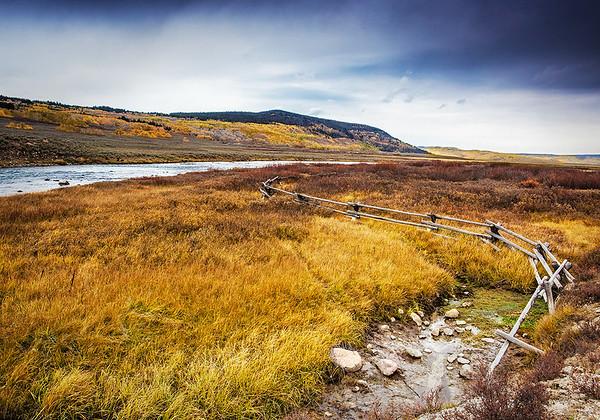 Maker:  Wayne Tabor<br /> Title:  Green River Fence<br /> Category:  Landscape/Travel<br /> Score:  12