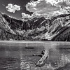 Maker:  Wayne Tabor<br /> Title:  Avalanche Lake<br /> Category:  Black & White<br /> Score:  13