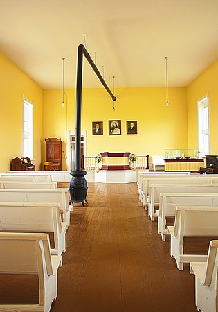 Maker:  Wayne Tabor<br /> Title:  Old Mormon Meeting House<br /> Category:  Pictorial<br /> Score:  13