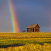 Maker:  Wayne Tabor<br /> Title:  Rainbow Cabin<br /> Category:  Pictorial<br /> Score:  13