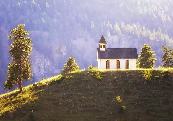 Maker:  Wayne Tabor<br /> Title:  Native Church<br /> Category:  Landscape/Travel<br /> Score:  13