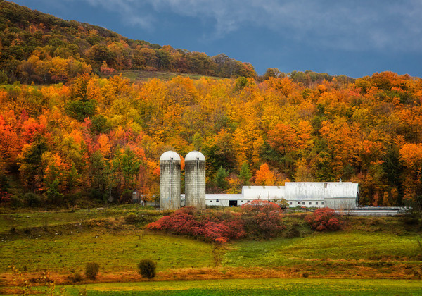 Maker:  Wayne Tabor<br /> Title:  New Hampshire Farm<br /> Category:  Pictorial<br /> Score:  13