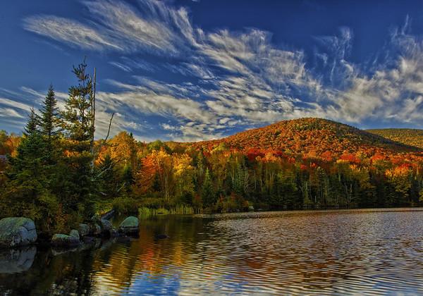 Maker:  Wayne Tabor<br /> Title:  Vermont Lake<br /> Category:  Landscape/Travel<br /> Score:  12