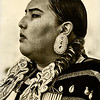 Maker:  Wayne Tabor<br /> Title:  Proud Blackfoot Woman<br /> Category:  Black & White<br /> Score:  12