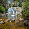 Maker:  Jim Lawrence<br /> Title:  Double Falls & Pools<br /> Category:  Landscape/Travel<br /> Score:  11