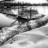 Maker:  Wayne Tabor<br /> Title:  Snow on the River Rose<br /> Category:  Black & White<br /> Score:  12
