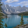 Maker:  Wayne Tabor<br /> Title:  Moraine Lake<br /> Category:  Landscape/Travel<br /> Score:  14