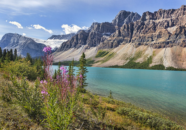 Maker:  Wayne Tabor<br /> Title:  Bow Lake<br /> Category:  Landscape/Travel<br /> Score:  14