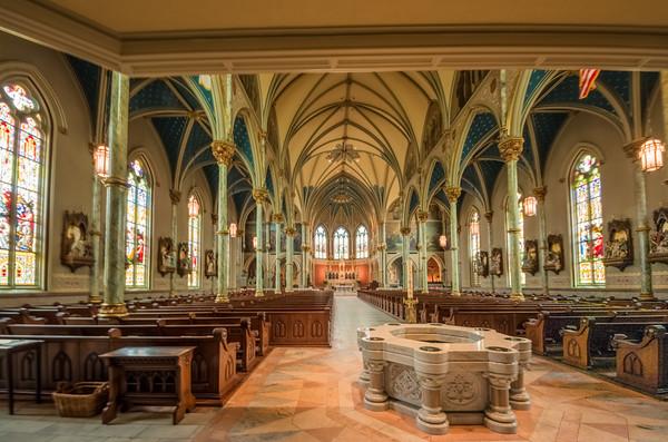 Maker:  Roger Lockridge<br /> Title:  Savannah Cathedral<br /> Category:  Landscape/Travel<br /> Score:  13