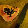 Maker:  Dale Robertson<br /> Title:  Papaya<br /> Category:  Pictorial<br /> Score:  11