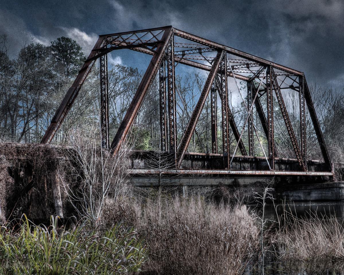 Maker:  Danny Haddox Title:  Jefferson Bridge Category:  Pictorial Score:  13