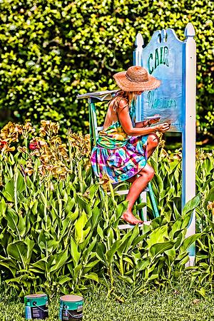 Maker:  Rhonda Tolar<br /> Title:  Life on the Plantation<br /> Category:  Portraiture<br /> Score:  12