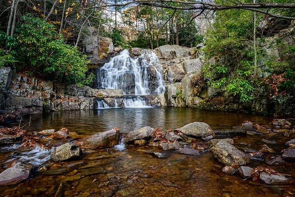 Maker:  Jim Lawrence<br /> Title:  Double Falls 2<br /> Category:  Landscape/Travel<br /> Score:  13