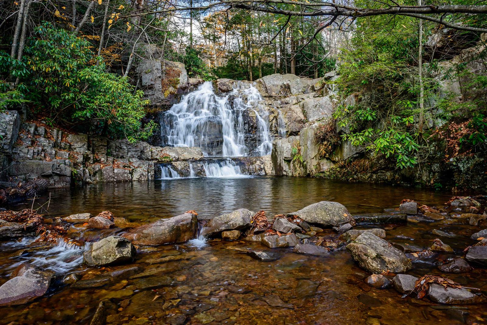 Maker:  Jim Lawrence Title:  Double Falls 2 Category:  Landscape/Travel Score:  13