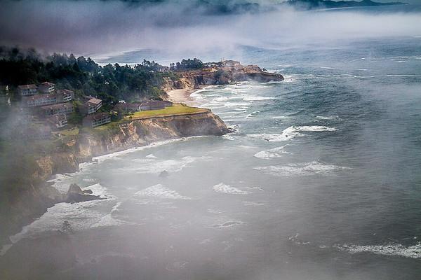 Maker: Larry Phillips<br /> Title: Foggy Coast  <br /> Category: Landscape/Travel<br /> Score:  14