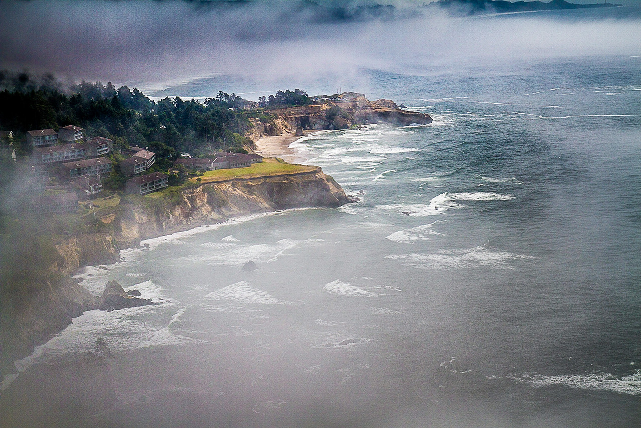 Maker: Larry Phillips Title: Foggy Coast   Category: Landscape/Travel Score:  14