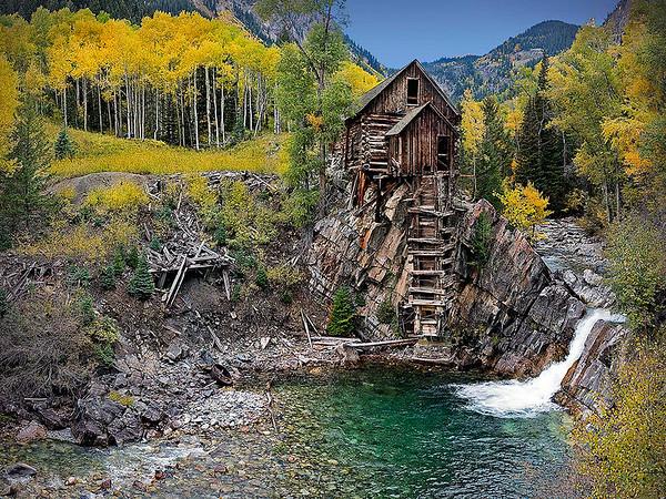 Maker:  Dwayne Anders<br /> Title:  Crystal Mill<br /> Category:  Landscape/Travel<br /> Score:  13