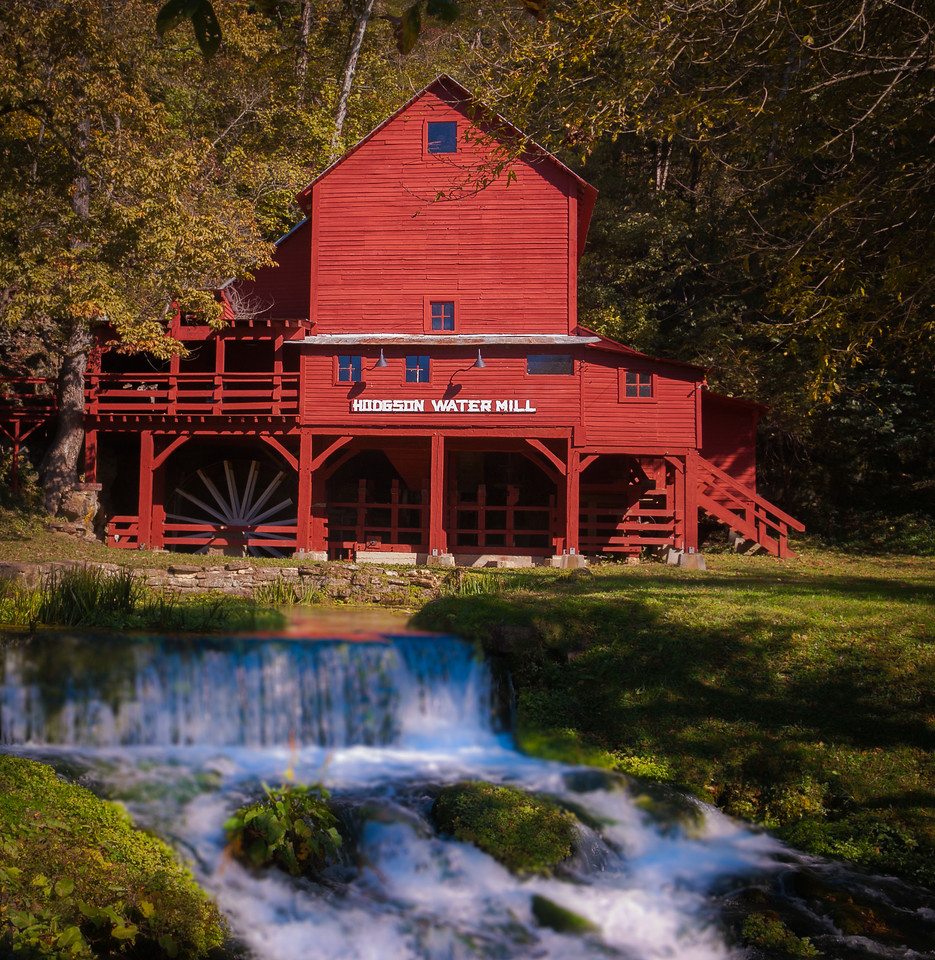 Maker:  Roger Lockridge Title:  Hodgson Water Mill Category:  Landscape/Travel Score:  12