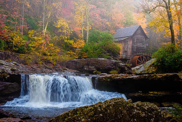 Maker:  Roger Lockridge<br /> Title:  Glade Creek Mill<br /> Category:  Landscape/Travel<br /> Score:  14