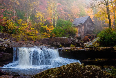 Maker:  Roger Lockridge Title:  Glade Creek Mill Category:  Landscape/Travel Score:  14