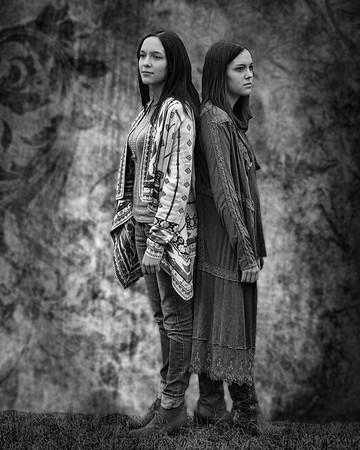 Maker:  Danny Haddox<br /> Title:  Twins<br /> Category:  Portraiture<br /> Score:  11