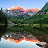 Maker:  Larry Phillips<br /> Title:  Maroon Bells<br /> Category:  Landscape/Travel<br /> Score:  13