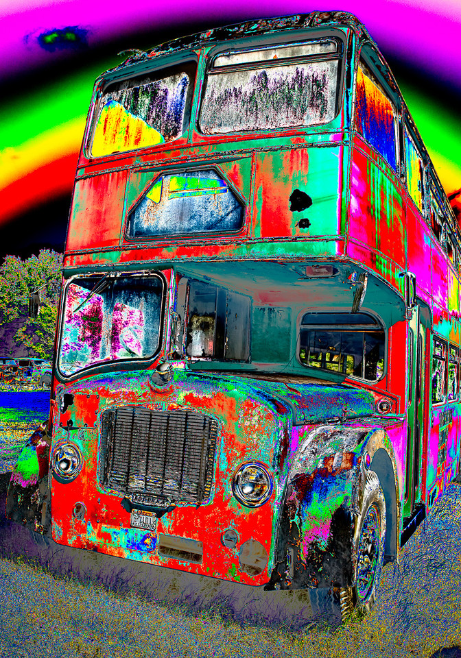 Maker:  Jim Lawrence Title:  Double Decker Category:  Altered Reality Score:  12