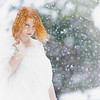 Maker:  Mary Haddox<br /> Title:  Snow<br /> Category:  Portraiture<br /> Score:  12