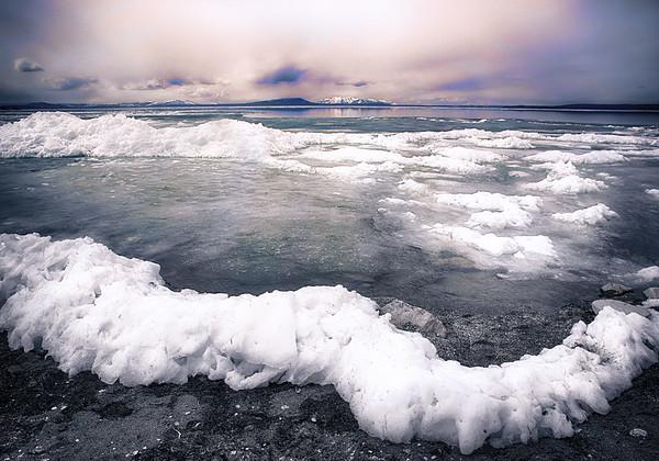 Maker:  Wayne Tabor<br /> Title:  Waves of Ice<br /> Category:  Landscape/Travel<br /> Score:  13