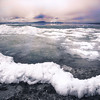 Maker:  Wayne Tabor<br /> Title:  Waves of Ice<br /> Category:  Landscape/Travel<br /> Score:  13