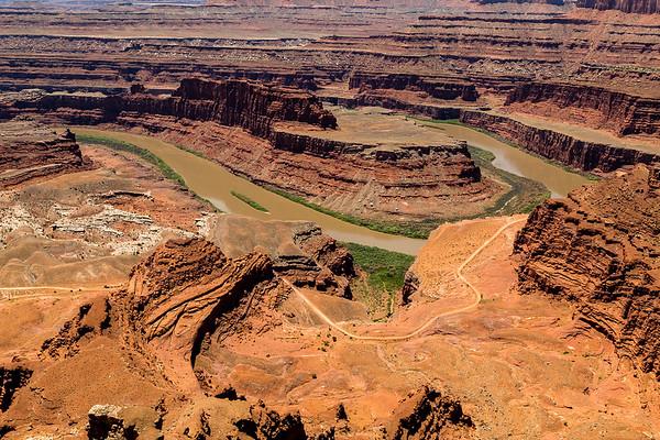 Maker:  Cindy Circu<br /> Title:  Dead Horse Canyon<br /> Category:  Landscape/Travel<br /> Score:  13