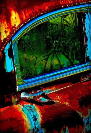 Maker:  Roger Hinton<br /> Title:  Out My Back Door<br /> Category:  Altered Reality<br /> Score:  13