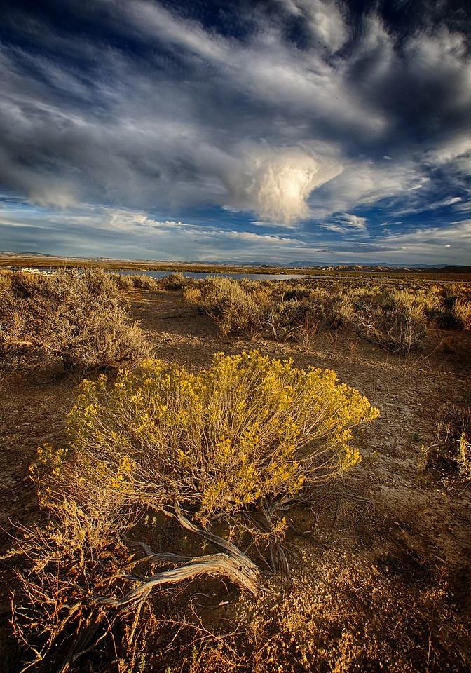 Maker:  Wayne Tabor Title:  Sky over Ghost Lake Category:  Landscape/Travel Score:  14