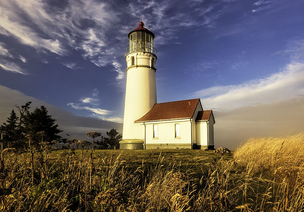 Maker:  Wayne Tabor<br /> Title:  Cape Blanco Light<br /> Category:  Pictorial<br /> Score:  13